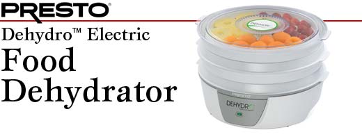 Presto-06300-Dehydro-Electric-Food-Dehydrator